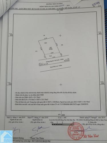 Đất thổ cư 15x21 mặt tiền Đường Nguyễn Viết Xuân